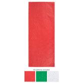 Red, Green & White Glitter Tissue Paper