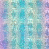 Iridescent Faux Crocodile Vinyl Fabric