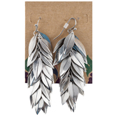 Leaves Chain Earrings
