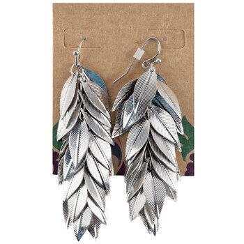 Leaves Chain Earrings
