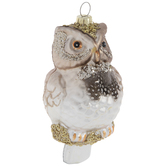 Brown Owl Ornament