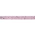 Pink Glitter & Stars Single-Face Satin Ribbon - 5/8