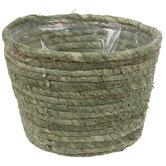 Green Round Basket