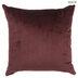 Burgundy Medallion Velvet Pillow
