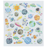Astronauts & Planets Foil Stickers