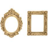 Mini Gold Frame Embellishments