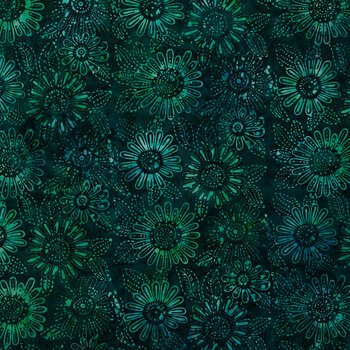 Summer Storm Batik Cotton Fabric
