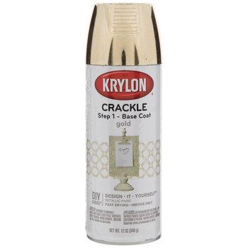 Gold Krylon Crackle Base Coat Spray Paint