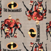 The Incredibles Anti-Pill Fleece Fabric