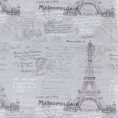 Gray Parisian Apparel Fabric