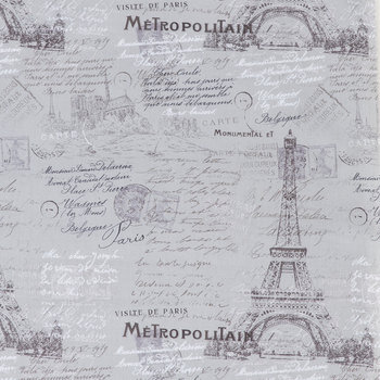 Gray Parisian Apparel Fabric