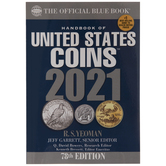 2021 Official Blue Handbook Of United States Coins