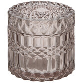 Round Glass Jewelry Box