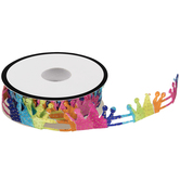 Rainbow Crown Trim - 7/8""