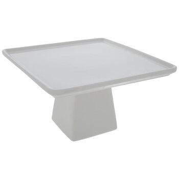 White Square Cake Stand - Small