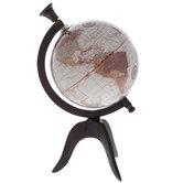 Brown Tripod Globe