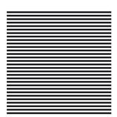 """Black & White Big Striped Scrapbook Paper - 12"""" x 12"""""""