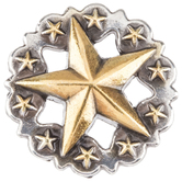 Scalloped Star Concho