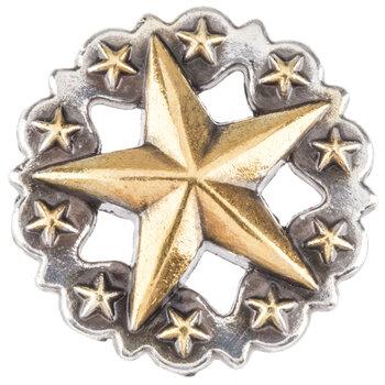 Scalloped Star Concho