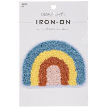 Rainbow Chenille Iron-On Applique