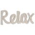 Relax Rope Wall Decor
