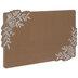 Brown & White Roses Cork Board