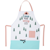 Camp More Worry Less Apron