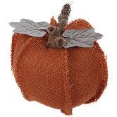 Orange Jute Pumpkin