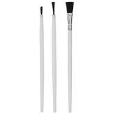 Model Paint Brushes - 3 Piece Set