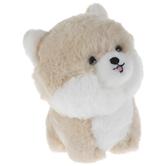 Beige & White Pomeranian Plush