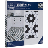 Biscotto Peel & Stick Vinyl Floor Tiles