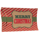 Metallic Merry Christmas Gift Card Holders