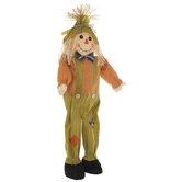 Green & Orange Self-Standing Scarecrow