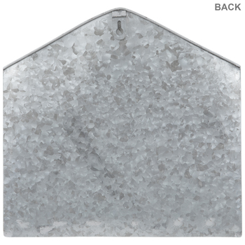 Galvanized Metal Envelope Wall Decor