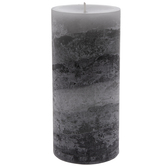 Sandalwood Myrrh Layered Pillar Candle