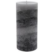 Sandalwood Myrrh Layered Pillar Candle