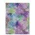 Purple & Blue Holographic Stars Felt Sheet