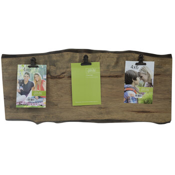Wood Tree Plank Clip Collage Frame