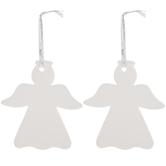 White Angel Ornaments