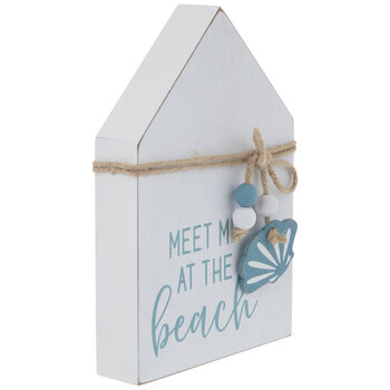 Meet Me At The Beach Wood Decor