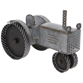 Metal Tractor Decor