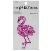 Flamingo Rhinestone Sticker