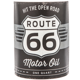 Route 66 Motor Oil Can Metal Wall Decor