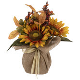 Sunflower & Berry Arrangement