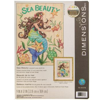 Sea Beauty Counted Cross Stitch Kit
