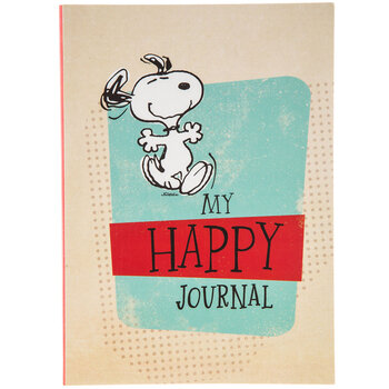 Peanuts Happy Journal
