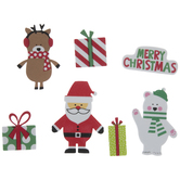 Christmas Icon Foam Stickers
