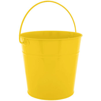 Yellow Metal Bucket