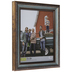 Two Tone Turquoise Beveled Wall Frame - 11