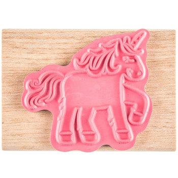 Cutesy Unicorn Rubber Stamp